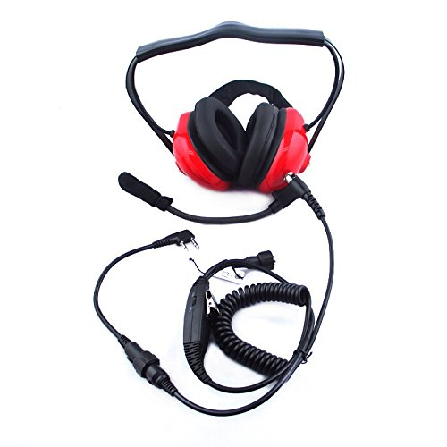 noise cancelling headset overhead earpiece