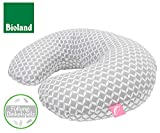 Nursing Cushion with Spelt Filling From Motherhood (Ergonomic)–with Removable Cover