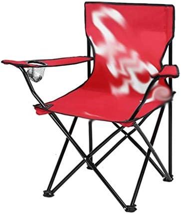 Zfggd Tabouret Escabeaux Tabouret De Travail en Plein Air Chaise Pliante Chaise De Plage Portable Tabouret De Camping Chaise De Pêche Mazar Art (Size : Black Trumpet)