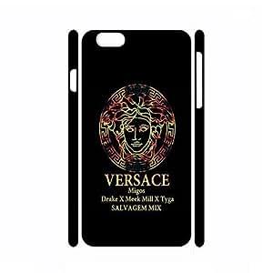 aircartoonsls diseño Logo Case-iPhone 6/6S Plus 5,5con aspecto agradable Versace Logo patrón diseño cubierta