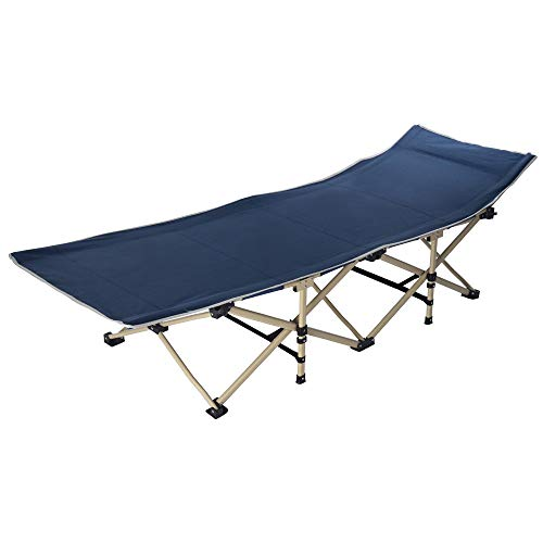 Topgee Single Folding Bed Office Napping Bed Folding Bed Outdoor Camp for Traveling Hunting by Topgee Home and Garden (Image #1)