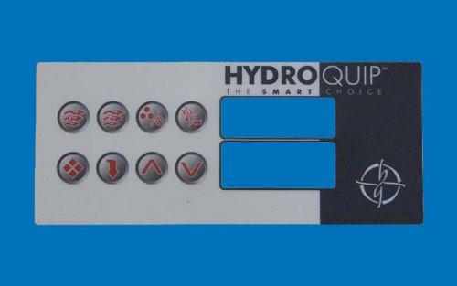Ht2 Spa - Hydro-Quip 80-0211 8-Button HT2 Spa Side Label