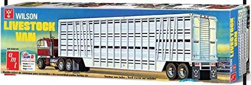 amt 1/25 ウィルソン ライブストック バントレイラー AMT1106の商品画像