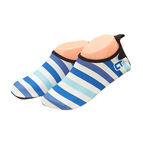 Kids Beach Shoes Sports Shoes Water Shoes Soft Shoes Indoor Shoes Sock Shoes Blue nxyolW3w6