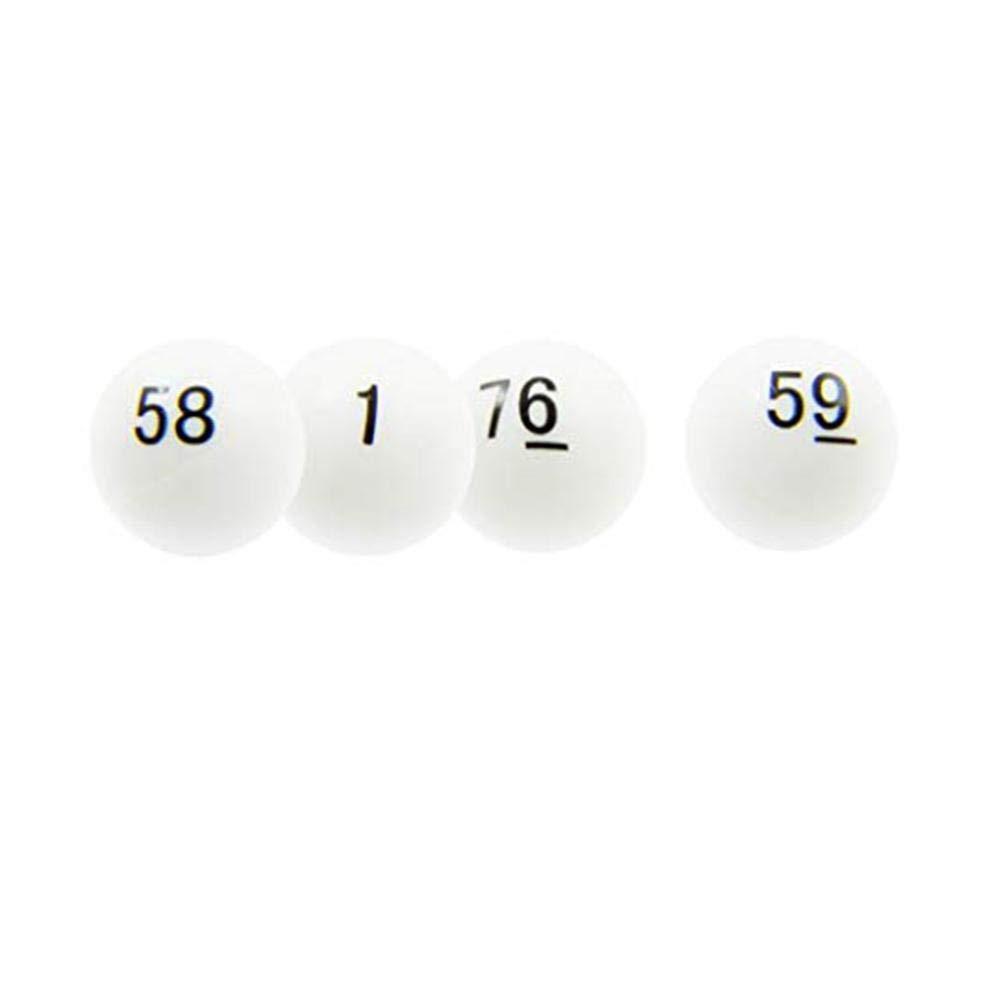 colinsa Gioco della Lotteria del Partito di Puzzle della tavola del Gioco da Tavolo del Gioco di Bingo della Lotteria