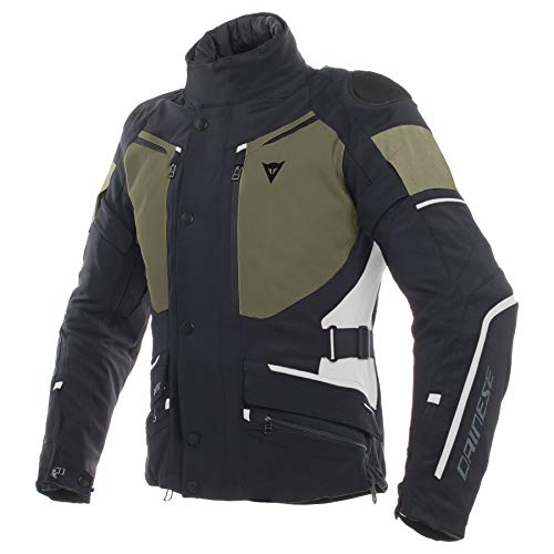 Dainese Carve Master 2 Gore-Tex Men's Street Motorcycle Jackets - Nero/Grape-Leaf/Light-Gray / 54