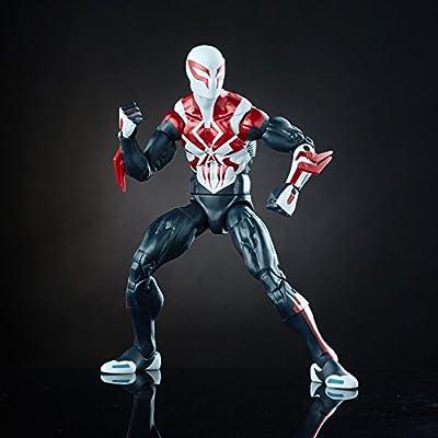 Marvel Spider-Man 6-inch Legends Series Multiverse Spider-Men: Spider-Man 2099: Toys & Games