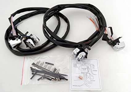 Harley Davidson Handlebar Controls Wiring Harness on
