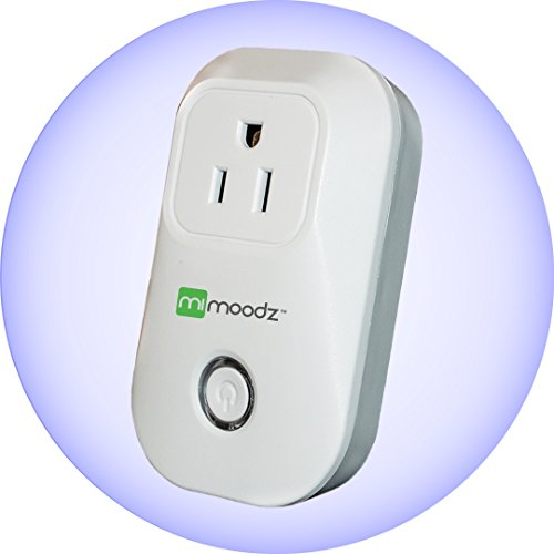 Mimoodz Smart Plug WIFI Socket Outlet | Turn Electronics On/Off Remotely From Anywhere Via IOS/Android App, No Gateway Needed, Compatible with Alexa, Designed In Germany