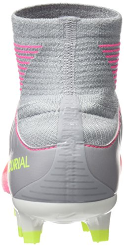 White Nike Grey Dynamic Hyper Boots Football Women's Pink Fit Mercurial Pink III Wolf Veloce Fg 41wFU