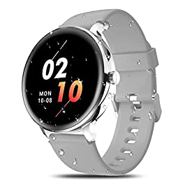 IOWODO X2 Smart Watch,Fitness Tracker with Heart Rate Monitor Watches for Men Women Bluetooth Activity Tracker IP68…