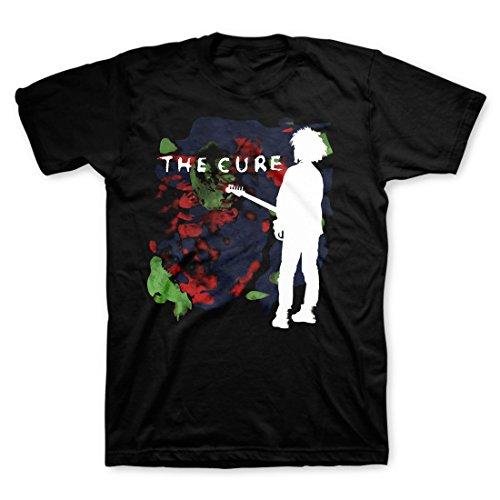 The Cure Men's Boys Don't Cry T-Shirt Black XL
