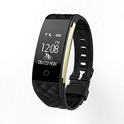 LNLZYF smart wristband Smart Wristband Heart Rate Monitor Pedometer IP67 Sport Fitness Bracelet Tracker Bluetooth Estimated Price £45.98 -