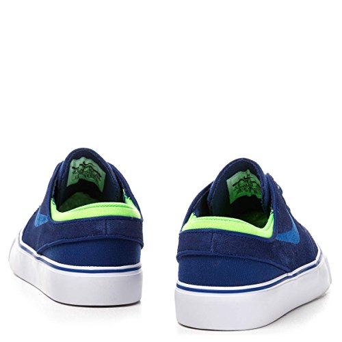 Nike Stefan Janoski (GS), Zapatillas de Skateboarding para Niños Azul / Verde / Blanco (Dp Ryl Bl / Gm Ryl-Grn Strk-Whit)