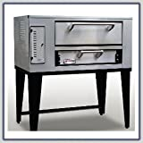 Marsal & Sons SD-236 Slice Series Gas Pizza Deck Oven w/ (1) 8''H x 24'' x 36'' Deck