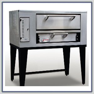 Marsal & Sons SD-236 Slice Series Gas Pizza Deck Oven w/ (1) 8''H x 24'' x 36'' Deck by Marsal