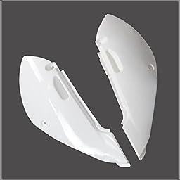JCMOTO Plastic Fairing Kit | Complete Kawasaki Klx Klx110 Kx 65 KX65 Suzuki DRZ 110 Fender parts (4Red+3White)