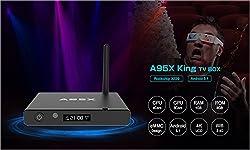 HUBEE A95X TV Box Android 5.1 King Single WiFi 1G 8G XBMC 16.1 Ultra HD 4K HD MPEG1/2/4,H.264,H.265,VP9 DLNA Streaming Media Player Smart Set Top Box