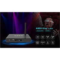 HUBEE A95X TV Box Android 5.1 King Single WiFi 1G 8G XBMC 16.1 Ultra HD 4K HD MPEG1/2/4,H.264,H.265,VP9 DLNA Streaming Media Player Smart Set Top Box