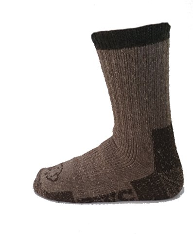 - The Buffalo Wool Co. Trekker Bison/Merino Crew Socks X-Large