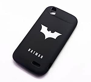 Batman Black Classic Cartoon Cool The Avengers Super Heroes Case Cover For Smart Mobile Phones ( Apple iPhone 4 4S 4G ) by ruishername