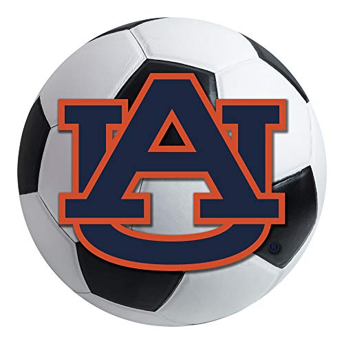 - FANMATS NCAA Auburn University Tigers Nylon Face Soccer Ball Rug