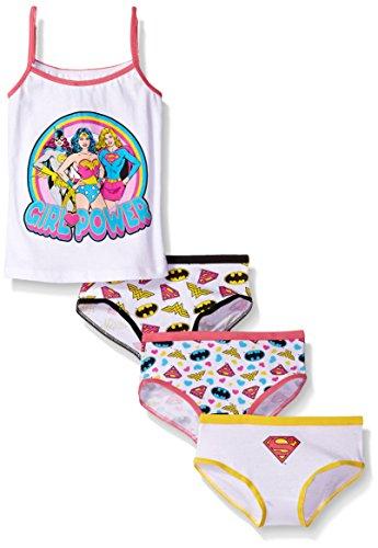 DC Comics Girls Girl Power 3 Pk Underwear and Tank Set