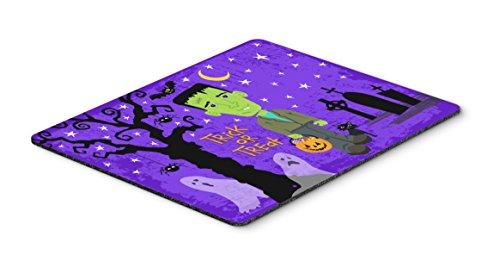 Caroline's Treasures Halloween Frankie Frankenstein Mouse Pad, Hot Pad or Trivet, Multicolor, 7.75x9.25   (VHA3021MP)