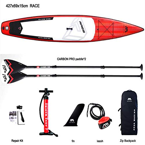 Bds Inflatable Stand Up Paddle Board Inflatable Surf Surfboard Fast Race Speed Water Sport 4276915cm
