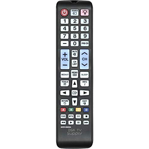 DSK TV Supply AA59-00600A Backlit Remote Control for Samsung
