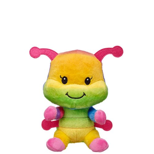 Build a Bear Workshop Rainbow Wiggles Caterpillar Stuffed...