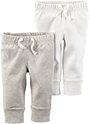 Carter\'s Unisex Baby Bottoms, Ivory, 12 Months