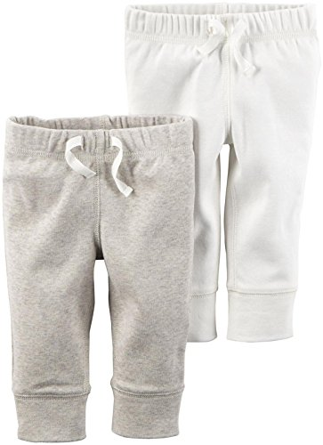Carter's Unisex Baby Bottoms, Ivory, 24 Months