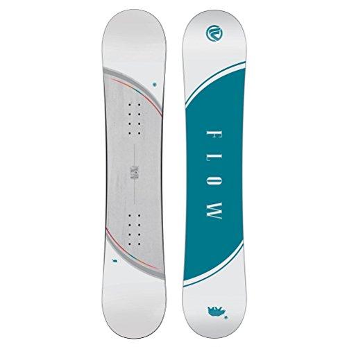 140cm Snowboard (Flow Micron Velvet Girls Snowboard - 140cm)