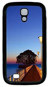 Cool Painting Samsung Galaxy I9500 Case, Samsung Galaxy I9500 Cases -Pontoon PC Rubber Soft Case Back Cover for Samsung Galaxy S4/I9500