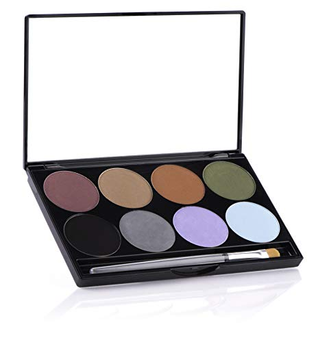 Mehron Makeup iNtense Pro Pressed Pigment Palette (Earth) ()