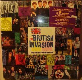 various the british invasion the history of british rock box music. Black Bedroom Furniture Sets. Home Design Ideas