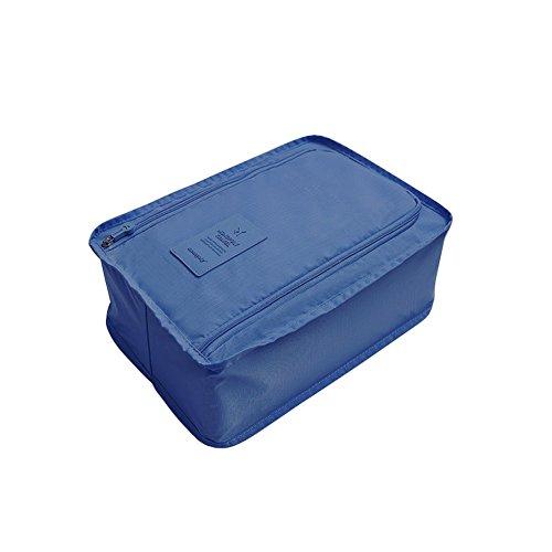 Pliant Foncé à de de l'eau Imperméable Portable Qlan Bleu Chaussures Multifonctionnel Sac Voyage Rangement Sac de qZwEWOT