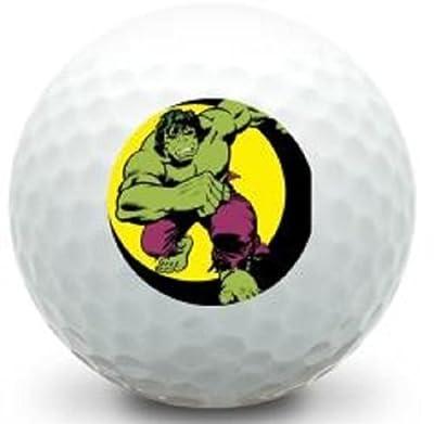 3 Dozen (Incredible Hulk LOGO) Titleist Pro V1x 2016 Mint / AAAAA Golf Balls