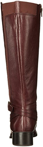 Naturalizer Wynnie Women's Calf Wide Brown Boot Riding qgOrqxF7