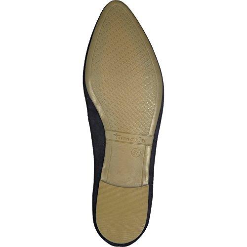 22135 Ballet 21 Women's Navy Flats Tamaris wtE5WdqHnw