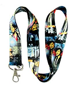 ONE Direction Rock Band Blue Lanyard