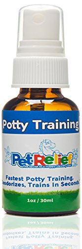 Potty Training For Puppies, Dog & Puppy Potty Training Spray, Urine Repellent, Lifetime Warranty! 30ml Natural Potty Training
