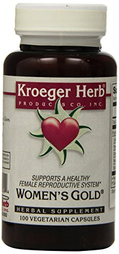 Kroeger Herb Women's Gold Capsules, 100 Count