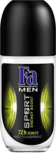 Fa Deo Roll-on Men Sport Energy Boost, 6er Pack (6 x 50 ml)