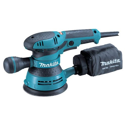 Makita BO5041R 3.0 Amp Variable Speed 5 in. Random Orbit Sander Renewed