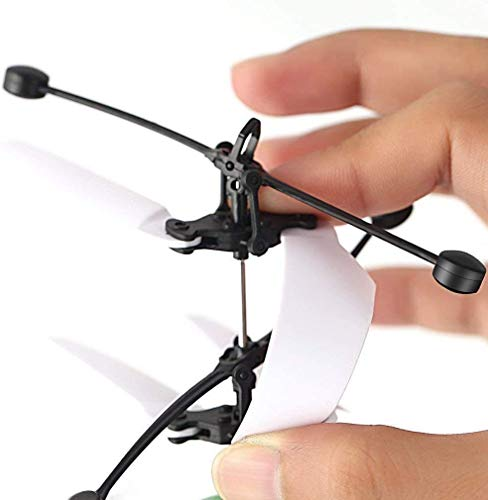 UTTORA Kiztoy Fliegender Ball, Helikopter Flugzeug Hubchrauber Spielzeug ,Infrarot-Induktions-Hubschrauber , Flugzeuge Drohne mit bunt leuchtendem LED-Licht,Tischbillard Indoor und Outdoor Geschenke