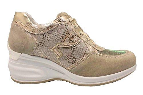 Gris NeroGiardin Femmes Ivoire et pour P805070D Confortable Chaussure Chaussures Baskets 5APAqrFwO