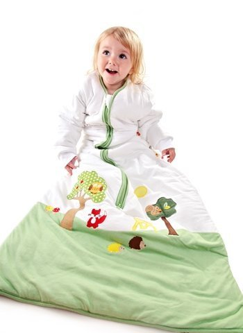 slumber sac Baby Sleeping Bag 100% Muslin Cotton Zip Up Soft Wearable Blanket Slumbersafe
