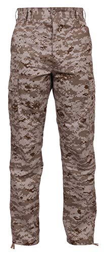Rothco BDU Pant - Desert Digital, Medium ()